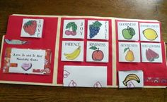 really cute fruits of the Spirit lapbook with free printables! :-)