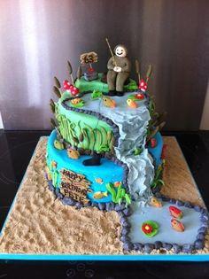 2 Layer fishing cake
