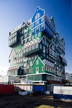 Hotel Inntel Zaandam by WAM Architects. conceived