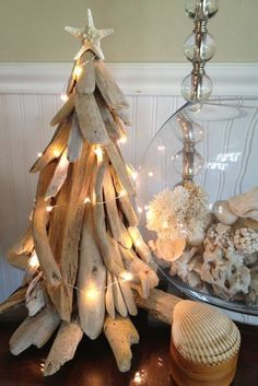 How To Make Driftwood Art | Decorating the Driftwood Tree | JOY BEYOND FIFTY