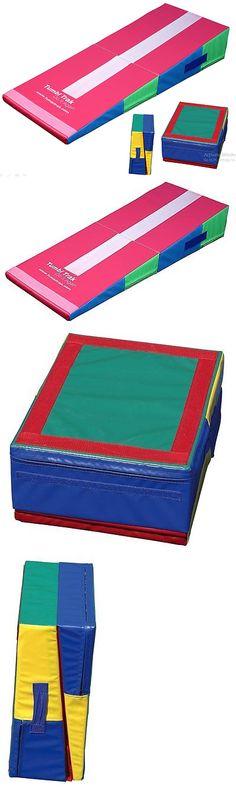 equipment gym sport incline gymnastics mat folding wedge ramp tumbling trainer exercise u003e