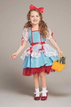 """""""Shop Chasing Fireflies for our Glitter Dorothy Costume for Girls. Browse our online catalog for the best in unique children's costumes, clothing and more."""