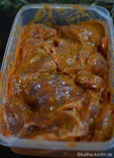 Grillmarinade - Tomate-Senf Marinade mit Rosmarin - Katha-kocht!