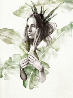 lucie birant - green