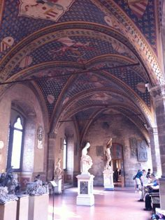 The Bargello museum is home to an extensive collection of sculptures chiseled by the great Italian masters.