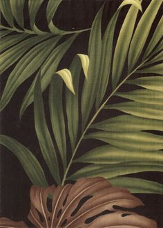 30monstera tropical leaves, apparel cotton, tropical Hawaiian vintage style fabric. Add Discount code: (Pin10) in comment box at check out for 10% off sub total at BarkclothHawaii.com