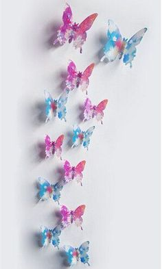 FoodyMine PVC Wonderful Art Butterfly Design Wall Stickers Decals Home Decor Poster for Rooms wedding wall Decorations 3d Butterfly Wall Decor, 3d Butterfly Wall Stickers, Butterfly Decorations, Butterfly Design, Wedding Wall Decorations, Room Decorations, Wall Stickers Home Decor, Room Posters, 3d Wall
