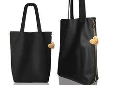 Leather shoulderbag XL / Worek skórzany XL