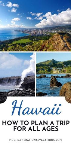 If you want to plan a Hawaii trip with a multigenerational group, start here. We have tips for visiting Hawaii with all ages from lodging to tours to where to eat. This Hawaii guide is all you need to plan the perfect Hawaii vacation with family. - Multigenerational Vacations | Hawaii with kids| Hawaii with grandparents| Hawaii family vacation| Hawaii vacation tips|Hawaii vacation Oahu| Hawaii things to do| Hawaii travel guide Hawaii Vacation Tips, Go Hawaii, Hawaii Travel Guide, Maui Travel, Visit Hawaii, Travel Usa, Travel Tips, Us Travel Destinations, Amazing Destinations