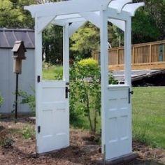 Repurposed old doors