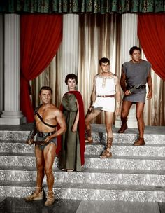 One of my favorite movies! Spartacus (the movie not tv show)