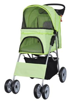 This Foldable Carrier Pet Stroller provides first class travel for your lovable pet. Features include three zipper access points to conveniently get your pet in and out. The spacious interior and padded f Dog Bike Trailer, Cat Stroller, Large Storage Baskets, Pet Gear, Dog Carrier, Cool Cats, Your Pet, Pet Supplies, Dog Cat