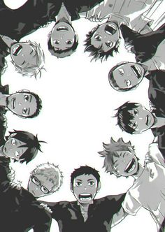 """I love how everyone is like """"Let's go have some fun!"""", while Tsukishima doesn't even try to hide his disgust at being touched by a peasant :D"""
