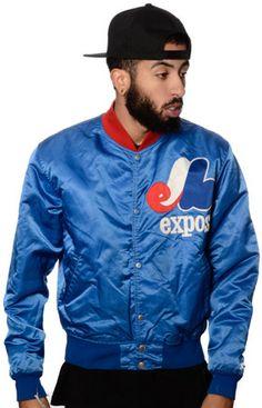 New Jack City Vintage Expos Starter Jacket on shopstyle.com
