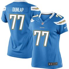 7 King Dunlap Jersey: Authentic Chargers Women's Youth Kids Mens ...