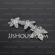 Headpieces - $24.99 - Gorgeous Alloy Hair Combs (042016815) http://jjshouse.com/Gorgeous-Alloy-Hair-Combs-042016815-g16815