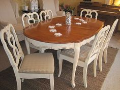 French Provincial Dining Set Re Do.