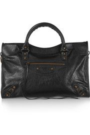 Balenciaga Classic City textured-leather tote