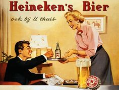 Awesome Vintage Ads From Heineken's Archives - DesignTAXI.com