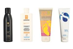 A Guide to the Best Mineral Sunscreens - WSJ - these (pictured) are the best ones to buy. I would go for the 3rd brand, hang ten, because it is the cheapest while still being good for you