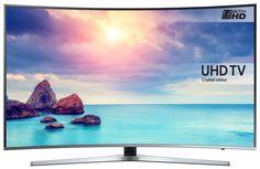 """Samsung UE43KU6670  Description: Samsung UE43KU6670: 43"""" UHD TV De Samsung UE43KU6670 is de 43 inch tv uit de geweldige Samsung KU6670 serie van Curved Crystal Color UHD tv's. Deze 6-series van Samsung geven een echte bioscoopervaring dankzij HDR Pro geweldige contrasten zuivere kleuren bij veel minder stroomverbruik. Deze UHD SMART tv heeft een Curved design 3 HDMI en 2 USB ingangen een eco sensor en ingebouwde Wifi. Curved / UHD 43"""" (108cm) PQI (Picture Quality Index) 1600 20W Sound Output…"""
