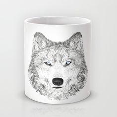 wolf Mug by creaziz | Society6