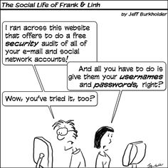 The Social Life of Frank & Linh: Internet Security
