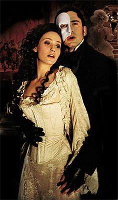 phantom of the opera. Loved the broadway show, loved the movie!