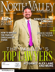 The Aug/Sept '16 cover of North Valley Magazine  Produced by The Media Barr, Inc.   Photo by CMQ Photos LLC. www.themediabarr.com www.northvalleymagazine.com