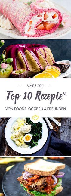 Noch ist es grau und kalt, aber der Frühling lässt nicht mehr lange auf sich warten. Begrüß den März mit 10 Wohlfühlrezepten von Foodbloggern.