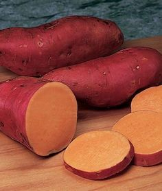 Sweet Potato, Beauregard Big and elongated, red-skinned tubers are extra-rich orange. more info Product Details Sun: Full Sun Sowing Method: Direct Sow Days to Maturity: days Height: inches Sweet Potato Seeds, Sweet Potato Plant, Fresh Vegetables, Growing Vegetables, Veggies, Buttercrunch Lettuce, Growing Sweet Potatoes, Carrot Seeds, Home Garden Plants