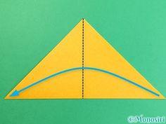 折り紙で花瓶の折り方手順3