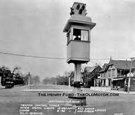 pictures of the blow up of the first traffic light in 1914 - Yahoo Image Search Results University Of Michigan Library, State Of Michigan, Ohio State University, Detroit Michigan, Woodward Avenue, Cheerleading Pyramids, Detroit History, Architecture Art Design, Detroit Area