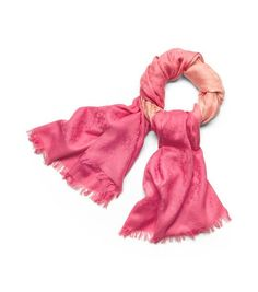 Tory Burch Dip dyed scarf for BCA month