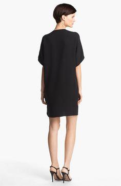 Vince Trapunto Silk Shift Dress | Nordstrom