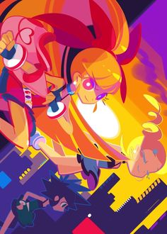 Tags: Anime, Fanart, Power Puff Girls Z, deviantART, Power Puff Girls