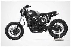 GasCap Motor's Blog: '91 Honda Dominator - Anvil Motociclette