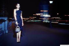 Fantasy Fashion Design: Marion Cotillard es fotografiada de noche en la úl...