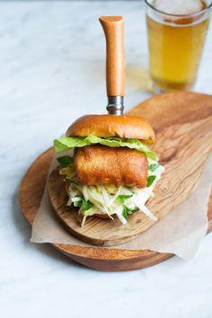 @saltandwind Souvenir Recipe: Fillet O' Fish Shop Burger | Inspired by Fish Shop in #Dublin Ireland | www.saltandwind.com