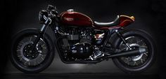 Read more about this beautiful bike!http://www.caferacergirls.com/triumph.html