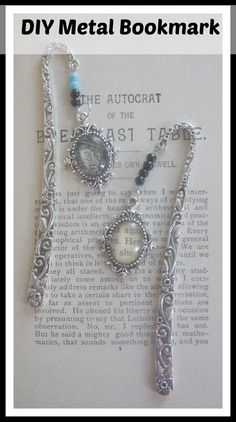 How to make a beaded metal bookmark. easy and fun bookmarks to make. In this video I will show you how to make an elegant beaded metal bookmark. Looking for Affordable, quality jewelry making supplies? Check out Panda Hall . Link to Panda Hall Website . Make Your Own Jewelry, Diy Jewelry Making, I Love Jewelry, Sea Glass Jewelry, Jewelry Making Supplies, Crystal Jewelry, Jewelry Kits, Bead Jewelry, Jewlery