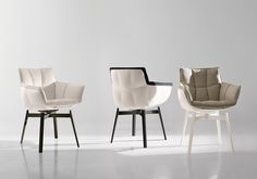 B&B ITALIA - HUSK SMALL ARM CHAIR - ARM CHAIRS - Chairs - Products