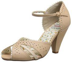 Bettie Page Women's BP403-Melanie Dress Sandal, Beige, 6 M US Bettie Page http://www.amazon.com/dp/B00P7RRS2E/ref=cm_sw_r_pi_dp_G.eHvb1YP95NZ