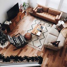 my-room-design:Love  Details: White Chevron Rug