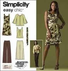 Simplicity - 2938 | Naaipatronen.nl | zelfmaakmode patroon online