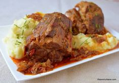 Romanian Food, Meatloaf, Main Dishes, Bacon, Pork, Food And Drink, Sweets, Beef, Cooking