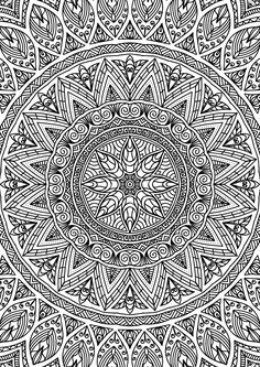 mandala ISSUU - Didzioji mandalu knyga by knygos. Abstract Coloring Pages, Pattern Coloring Pages, Free Adult Coloring Pages, Mandala Coloring Pages, Colouring Pages, Coloring Sheets, Coloring Books, Mandala Art, Mandala Drawing