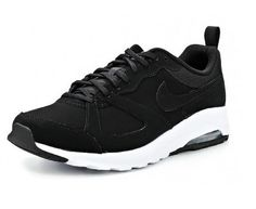 Nike Air Max Muse Mens Leather Suede Trainers Black White Sizes 6 to 9 NEW