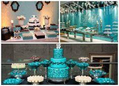 A festa de 15 anos azul muda o tradicional rosinha e rende lindas ideias e decorações para comemorar o dia da debutante. Além da cor azul, ainda há variações de tons e combinações bem