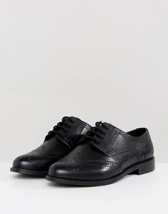 3031758e1d12 ASOS MOJITO Wide Fit Leather Brogues at asos.com